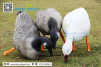 Wholesale New Design Lifelike Lightweight Eating Goose Decoys For Hunting Shooting Made By XPE Free Drop Shipping