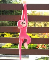 Wholesale 6 Colors PP Cotton Cute Screech Monkey Plush Toy Doll Kids Gift New Arrival