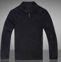 100 cashmere sweater - 2015 High quality New Zipper sweater Cashmere Sweater Jumpers pullover Winter Men s sweater men brand M L XL XXL XXXL