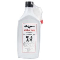 12 oz bottles - solong tattoo Gray Liner or Shading and Black Outlining Tattoo Ink oz ml Bottle Tattoo Pigment