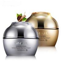 Wholesale FDBL snail cream to dark circles fine lines firming moisturizing eye cream eye bags eye care
