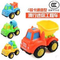 baby trolleys - Baby toys children s toy car baby trolley car toy police car engineering mini car lovely scooter