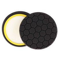 Wholesale 8Pc Black Inch mm Hex Logic Buffing Polishing Pad kit For Car Polisher