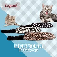 Wholesale Doglemi Cazy Playing Catnip Toy Kitten Toy Cushion Catnip Cat Toy