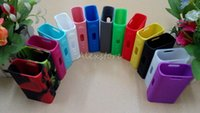 bag protective covers - Silicone Case Silicon Cases Bag Colorful Rubber Sleeve Protective Cover Silica Gel Skin For Eleaf Ismoka Istick Watt W Box Mod