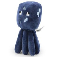 marionette - 1PC Retail Minecraft JJ Squid Cute plush toy stuffed doll super gift Cheap hql