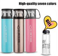 Wholesale New stainless steel mug Straight men business office cup child sports car thermos cup large capacity kettle