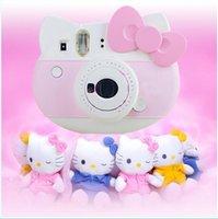 Wholesale 2016 New Arrivals Refurished Instax Mini Hello Kitty Instant Camera INS MINI KIT Polaroi Film Cameras