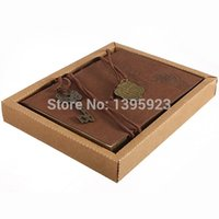 Wholesale Retro Leather Classic Vintage String Key Blank Diary Notebook Journal Sketchbook