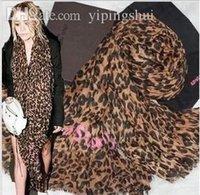 Foulards en coton de marque de gros Avis-En gros-2015 Leopard écharpe Coton Lin haute qualité des femmes a volé, foulard concepteur de marque
