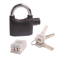 accessories for quad bikes - Hot Car Accessories Alarm Padlock Lock for Motorcycle Scooter Quad Bike