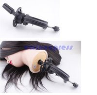Wholesale Hair Salon Hairdressing Table Clamp Training Head Mannequin Adjustable Holder New high quality