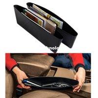 Wholesale High Quality Pair Auto Car Seat Pocket Catcher Organizadores Para Casa Trays Storages Bag