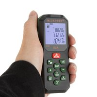 line laser - Portable MiLESEEY S2A M Laser Rangefinder Distance Meter Area Volume Measuring Instrument Multi line Display Distance Measurer E0229