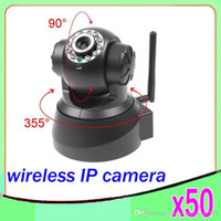 wireless wired ip camera - Supported Wireless Wired IP Camera Dual Audio Pan Tilt Outdoor Home Security Surveillance System CCTV Camera ZY SX