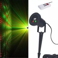 Wholesale MJJC Hotsell laser outdoor lights Shower Garden Waterproof Laser Projector Landscape Light Garden Xmas with EU US AU UK Plug