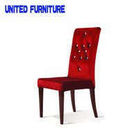 Wholesale Chinese New Luxury Modern Hotel Design Furniture Hotel Metal Dining Chair for Dinning Table fast shipping