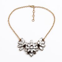 best flash accessories - Charm Dress Accessory Design Best Price Female Gorgeous Flashing Clear Crystal Wedding Necklace
