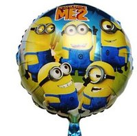 balloons factory - Despicable ME Minions Foil Balloons Aluminium Coating Novelty Helium Balloon Toys Valentine Day Decorations Free UPS Factory Price