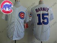 barney shorts - Darwin Barney Jersey White Pinstripe Chicago Cubs Jerseys