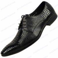best comfort fashion - Best Quality Luxury Comfort geniune Leather Formal Dress Loafer Mens Fashion Shoe snakeskin wedding dress shoes