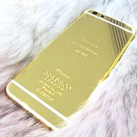 Wholesale Free ship Gold battery back for iphone6 quot kt ct Limited Edition Dubai Golden Back Cover Back Housing for iphone6