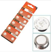 Wholesale AG0 V LR63 mAh Alkaline Button Coins Watch Batteries Compatiable With SR521 SR63 SR521SW