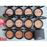 best face foundation brand - 10PCS Foundation Brand Makeup Studio Fix Powder Cake Face Powder Blot Powder Foundation Makeup Best Price Fast Ship