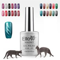 best nail lacquer - Elite99 D UV Nail Gel Polish LED Cat Eye Color Manicure Dark Cat Color ml Healthy and Eco friendly Gel Lacquer Best On Ali