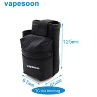 Wholesale New Arrival Vapesoon TC box bag Box Hang Bag For SUB OHM Vaping Convenient Carrying