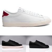 ac leather - new arrival men women couple solid black white low classic fashion ac premium casual sports sneakers shoes