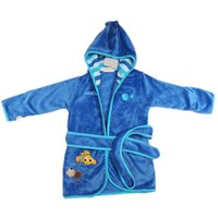 Wholesale Children Pajamas Robe New Kids Micky Minnie Mouse Bathrobes Baby Cartoon Home Wear