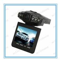 Wholesale H198 HD Car recorder Car DVR Radio Camera IR LED Night Video Recorder inch Colorful Screen Rotating