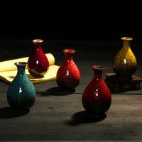 Wholesale porcelain vase set ceramic vases set fambe minimalist classic oriental china table vases decoraton christmas gift