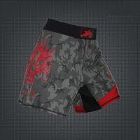 Wholesale new Mens MMA Shorts MMA Fight trunks Martial Arts Seen Pretorian Boxing Sanda Muay Thai Shorts MMA Short Trunks