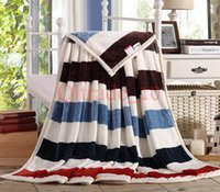 bed sheet and blankets - 50PCS LJJH1010 Method of coral fleece blankets wool flannel blanket Flag blankets to keep warm bed sheets and towels blanket that gift