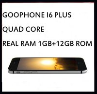 Wholesale 5 inch Goophone i6 plus Quad Core MTK6582 Android GHz GB GB GB GPS WiFi G MP Camera Smartphone