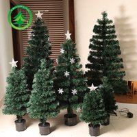 fiber optic tree - LED lighting the Christmas tree factory direct PVC fiber optic Christmas tree in Europe and the United States sell