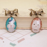 christmas pins - Cute Rabbit Alpaca Brooch Pins Fashion Animal Pendant Brooches Best Christmas Gifts for Children xz031