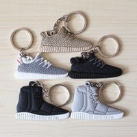 Wholesale by FEDEX Newest Sneaker Yeezy Boost Key Chains Novelty Keyrings for Gifts