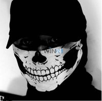 cod - Skeleton Ghost Skull Face Mask Cycling Cap Biker Balaclava Call Of Duty COD Costume Game