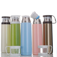 Wholesale Stainless Steel insulation Cup Flask Water cups Vacuum travel Thermos promotional Flask Mug order lt no track