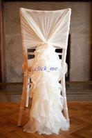 Cheap Chair covers Best Wedding Chair Ribbon