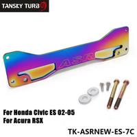 Wholesale ASR Neochrome Rear Chassis Tie Brace Subframe Reinforcement Brace Suspension For Honda Civic Acura RSX Si EP3 ES TK ASRNEW ES C