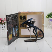 action horror movie - 32CM New Classic Sci Fi Horror Movie Aliens Series No Alien Queen Action Figure Toys