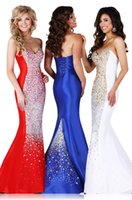 Cheap Sexy Taffeta Prom Pageant Dresses 2015 Sweetheart Sleeveless Lace Up Back Beaded Fomal Evening Gowns Floor Length Karishma Destinations 3770