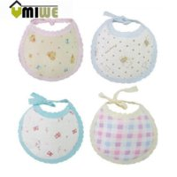Wholesale Umiwe Cartoon Baby Wear Soft Pure Cotton Baby Bibs Infant Saliva Towels Towels Cheap Towels