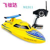 Weili WL911 2.4G de alta velocidad barcos de control remoto control remoto de maquetas de barcos vuelcan WLTOYS contra
