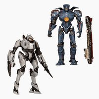 Wholesale 2Pcs set cm NECA Pacific Rim Jaeger Tacit Ronin and Gipsy Danger PVC Action Figure Collection Toy