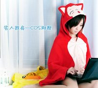 air conditioning bearing - Special cloak cloak red fox paragraph easily bear Zhairen air conditioning blanket shawl
